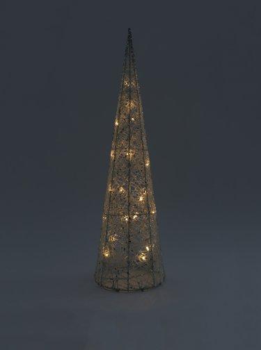 Set de 3 copaci luminosi albi Dakls