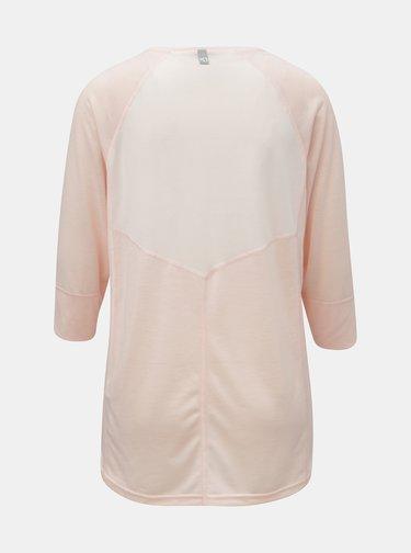Tricou functional roz deschis cu maneci 3/4 Kari Traa Julie