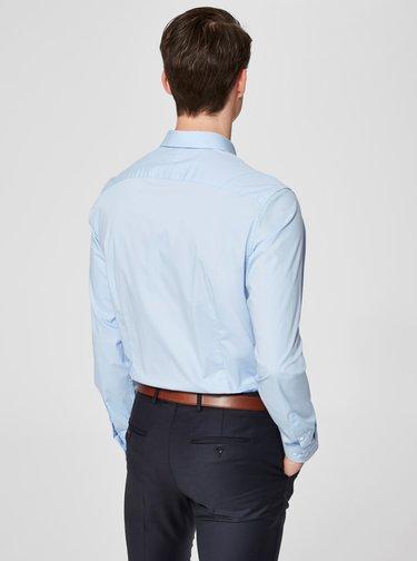 Světle modrá formální slim fit košile Selected Homme Preston
