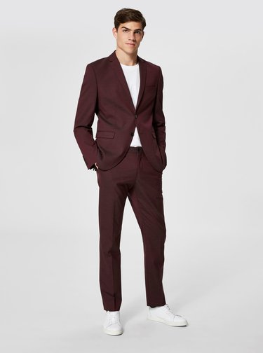 Sacou visiniu formal Selected Homme