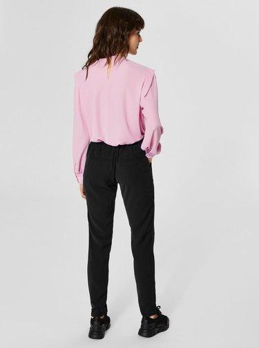 Černé kalhoty Selected Femme Sofia