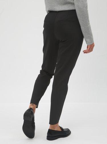 Černé kostýmové kalhoty VILA Delia