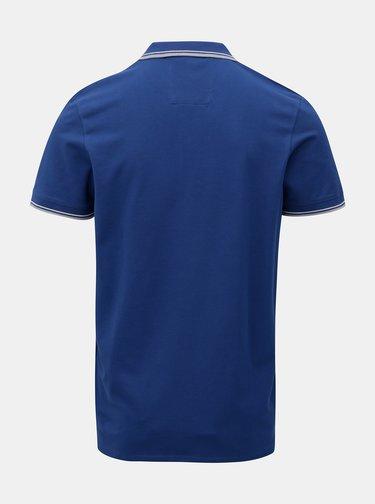 Tricou polo albastru inchis Selected Homme Season