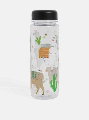 Sticla de apa fara BPA cu print mexican - Sass & Belle Lima Llama
