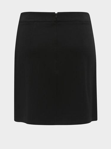 Černá sukně s ozdobnou přezkou Dorothy Perkins