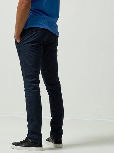 Pantaloni albastri inchis Selected Homme Yard slim fit