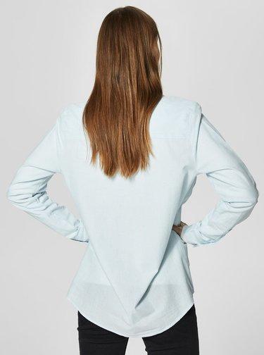 Krémovo-modrá pruhovaná košile Selected Femme Noella