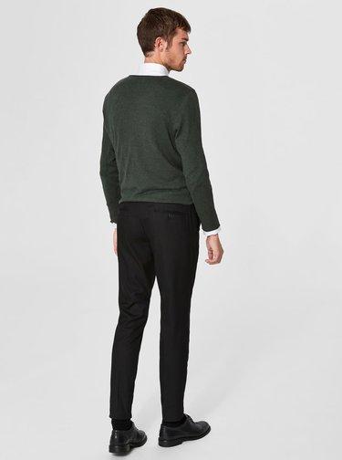 Pantaloni eleganti negri - Selected Homme Slim