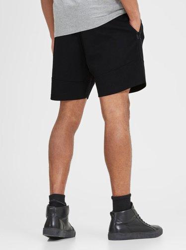 Pantaloni sport scurti negri Jack & Jones Will