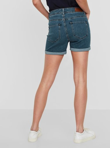 Pantaloni scurti albastri din denim - VERO MODA Seven