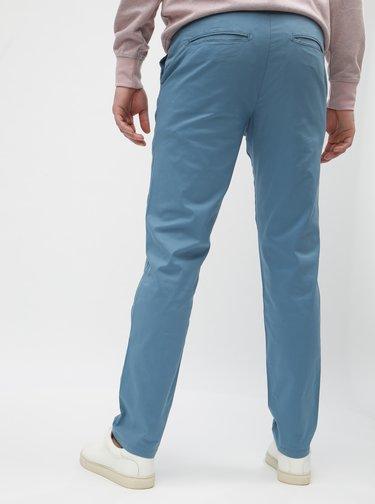 Pantaloni albastru deschis slim cu curea Selected Homme Yard