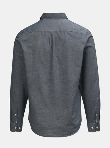 Sivá košeľa s náprsným vreckom Original Penguin