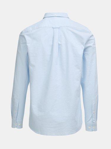 Camasa albastru deschis slim fit cu maneci lungi Farah Brewer