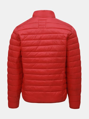 Červená prešívaná bunda Blend
