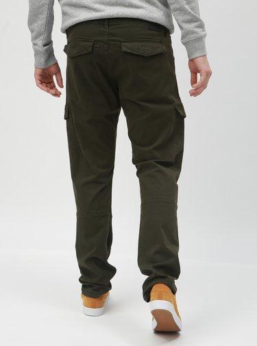Pantaloni kaki regular fit cu buzunare Blend
