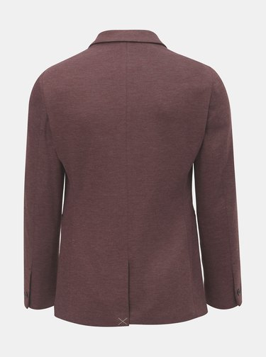Sacou formal bordo melanj Burton Menswear London