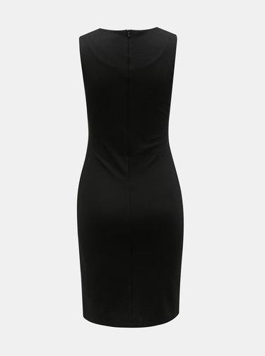 Sivo–čierne puzdrové šaty s motívom Desigual Corina