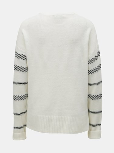 Pulover crem in dungi Dorothy Perkins Tall