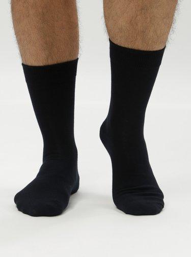 Súprava piatich párov párov ponožiek v čiernej a sivej farbe Jack & Jones Jens