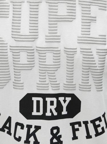 Bílé pánské tričko s potiskem Superdry Track&Field