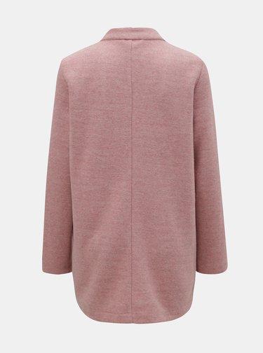 Ružový melírovaný tenký kabát TALLY WEiJL