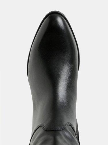 Čierne kožené čižmy Vagabond Frances Sister