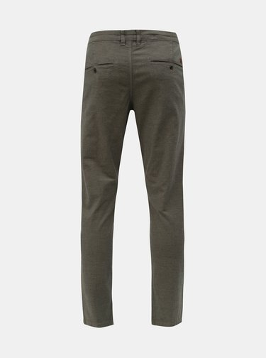 Pantaloni gri slim fit chino Jack & Jones Marco