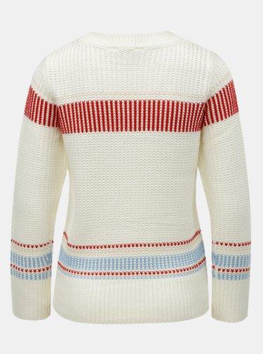 Krémový sveter s pruhmi Dorothy Perkins Petite