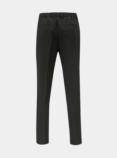 Černé tapered fit kalhoty Selected Homme Paul