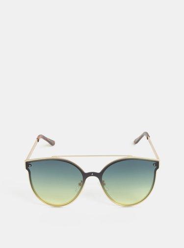 Slnečné okuliare v zlatej farbe Pieces Saga