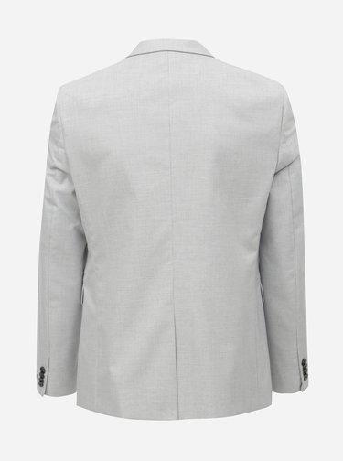 Sacou formal gri deschis skinny Burton Menswear London