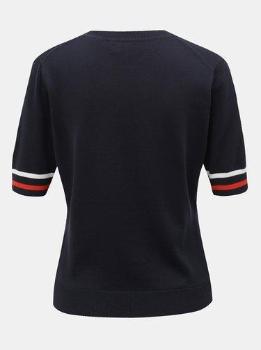 Tmavomodré dámske svetrové tričko GANT