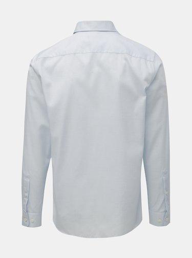 Svetlomodrá vzorovaná formálna regular fit košeľa Selected Homme Sel-Alli