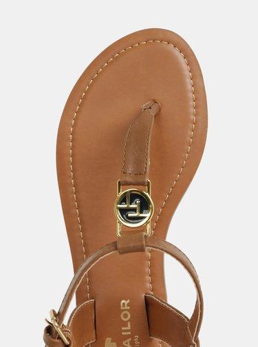 Hnedé dámske sandále Tom Tailor