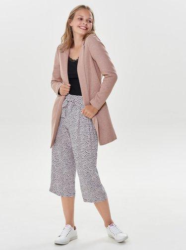 Staroružový tenký kabát ONLY Soho