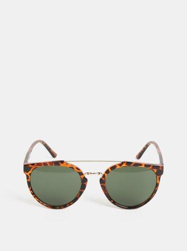 Hnědé vzorované sluneční brýle CHPO Copenhagen