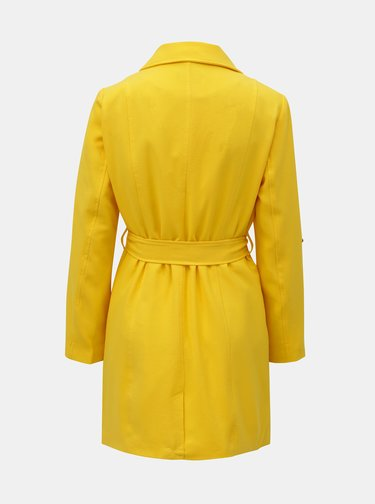 Žltý tenký kabát ONLY Jane
