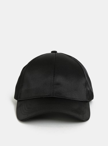 Černá kšiltovka Pieces Sandra