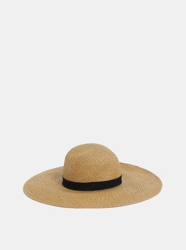 Světle hnědý klobouk Pieces Bianka