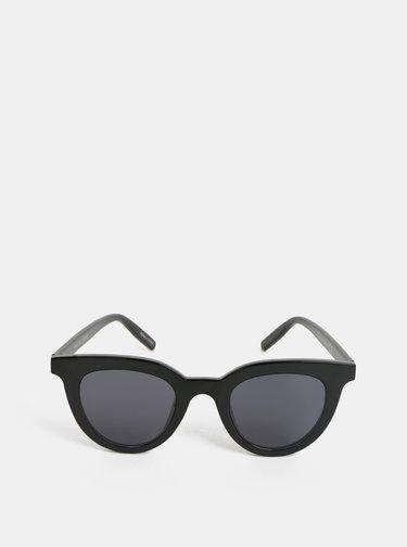 Černé sluneční brýle Pieces Bella