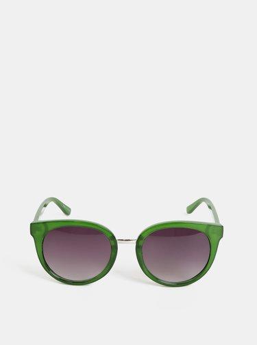 Zelené sluneční brýle Pieces Betty