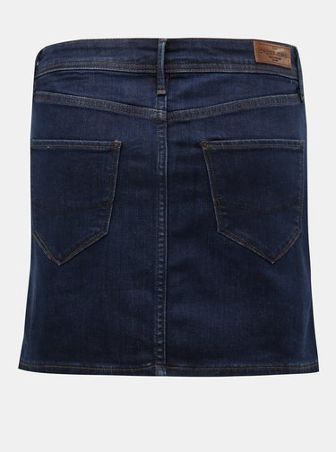 Tmavomodrá rifľová minisukňa Cross Jeans Martha
