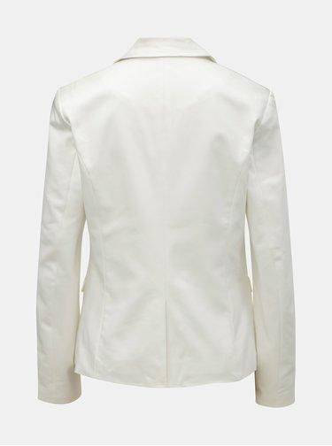Biele kostýmové sako VILA Adelia