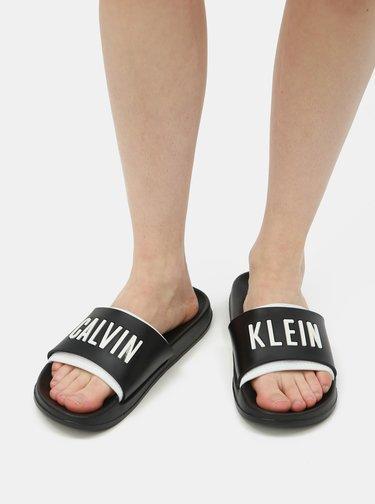 Čierne dámske šľapky Calvin Klein Underwear