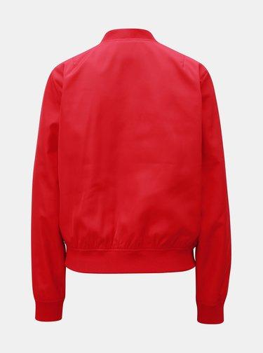 Červený dámsky bomber Calvin Klein Jeans