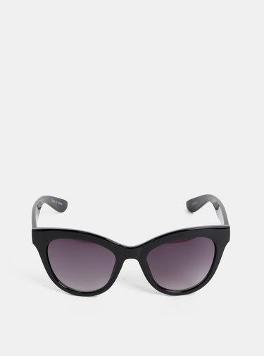 Čierne slnečné okuliare Pieces Sonja