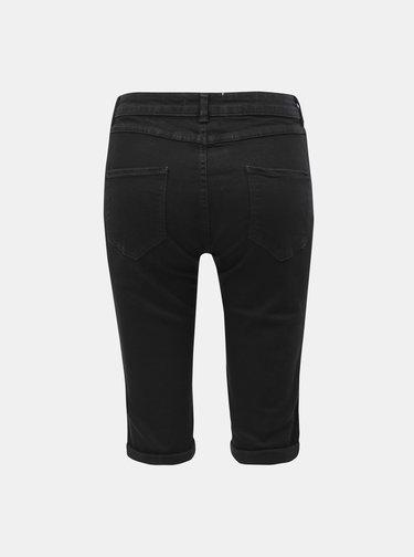 Pantaloni scurti negri din denim Dorothy Perkins Tall