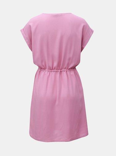 Ružové šaty VERO MODA Simply