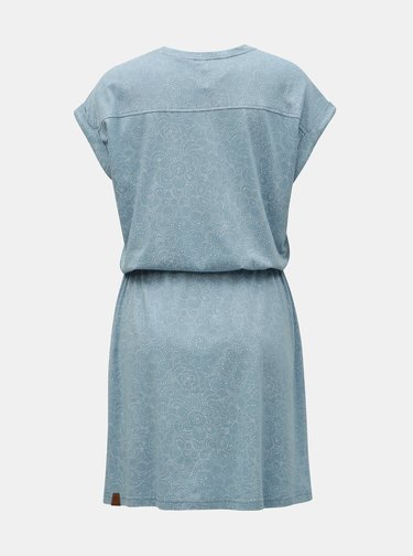 Modré vzorované šaty Ragwear Britta