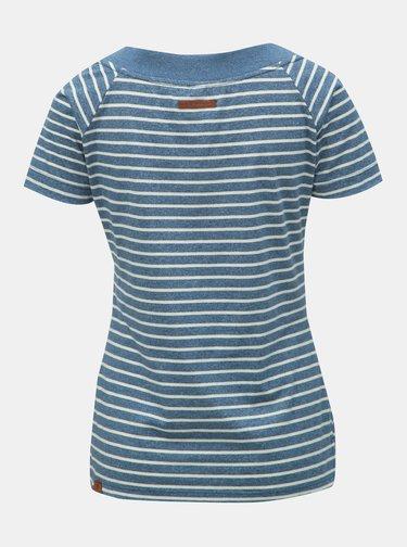Tricou albastru in dungi de dama Ragwear Seina